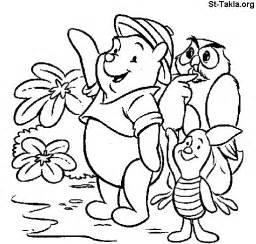 winnie pooh coloring pages kids