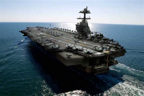 Gerald Ford Carrier Uss Gerald R Ford Cvn 78 Aircraft Carrier Strange