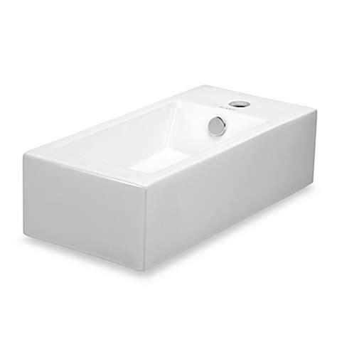 white wall mounted l elanti ec9899 l porcelain white wall mounted rectangle