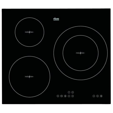 Plaque Induction 3 Foyers 7469 by Plaque Induction 3 Foyers Faure Achat Vente Plaque