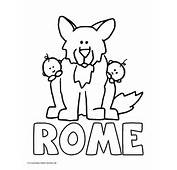 World History Coloring Pages Printables Wolf And Romulus Remus