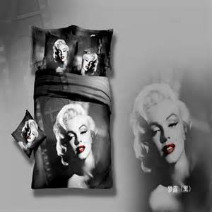 Marilyn Monroe Bedroom Set Movie Marilyn Monroe Queen Size Duvet Cover Bedding