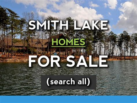 smith lake houses for sale lake coast real estate co smith lake homes for sale