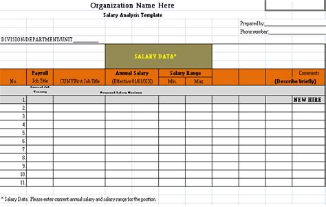salary benchmarking template payslip templates page 2 of 4 collection in ms