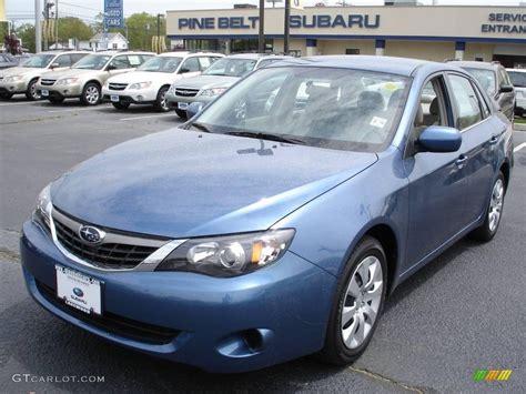 2009 Subaru Impreza Sedan by 2009 Newport Blue Pearl Subaru Impreza 2 5i Sedan 9321918