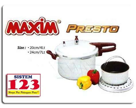 Panci Presto Maxim Murah toko panci presto maxim 4 liter 085851994000 toko