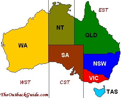 what time is it in australia? time zones and daylight savings