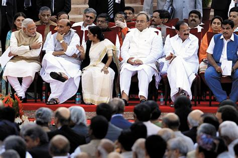 Nda Cabinet Ministers by Is The Modi Power Vertical The Dominant In