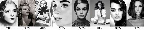 eyebrow fashions throughout the decades blog skincare by adriana