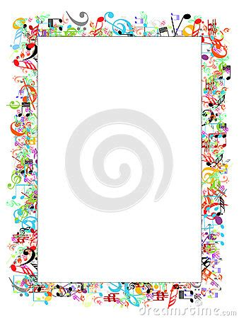 design pattern notes by sriman music notes border printables pinterest music border