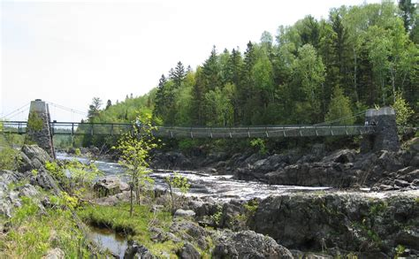 jay cooke state park swinging bridge everyone should visit this swinging bridge in minnesota