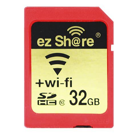 Memory Card Wifi brand wifi sd card adapter class10 sdhc wireless memory card wi fi for canon nikon sony olympus