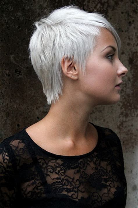 funky hair color for artsy older women funky short haircuts for women