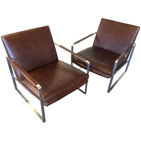 distressed leather armchair brushes steel and distressed leather armchairs at 1stdibs