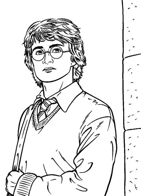 Harry Potter Printable Coloring Pages free printable harry potter coloring pages for