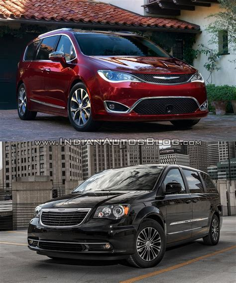 chrysler pacifica vs chrysler town country pictorial