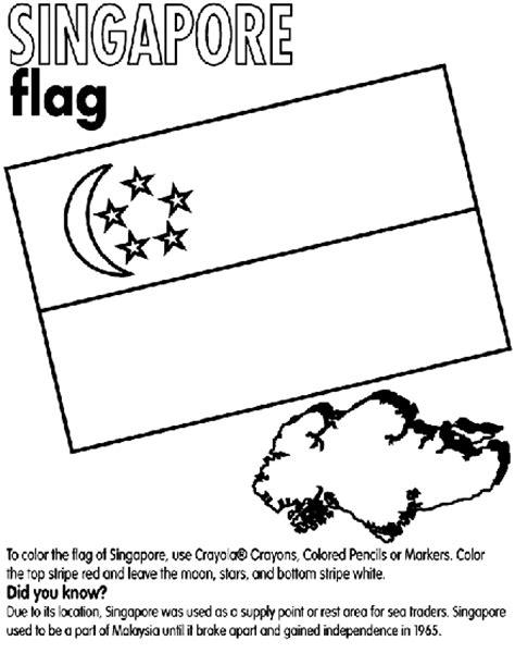 singapore coloring page crayola com