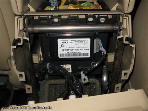 2007 acura mdx hfl module bluetooth on my 07 stop responding today any idea to