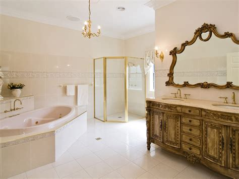 classic bathroom classic bathroom design with corner bath using ceramic bathroom photo 641630