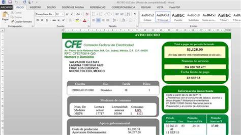 pdf formatos inv total r p pdf formatos recursos humanos crear recibo de luz en word descargar archivo youtube