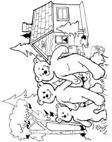 pics photos goldilocks coloring finding bear