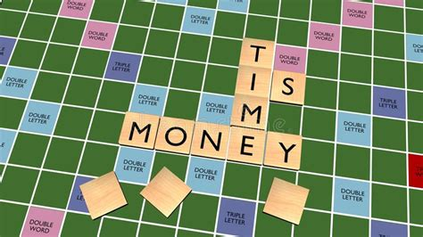 play scrabble for money time is money crossword on scrabble board royalty free