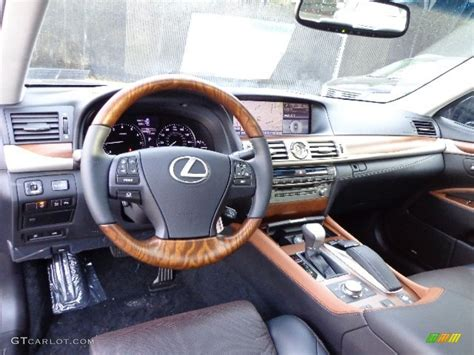 tan lexus 2013 lexus ls 460 interior black and saddle tan matte