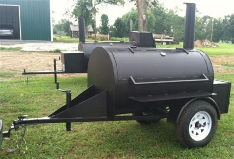 Handle Door Ghc 1 10 custom bbq flow barbecue smoker with trailer