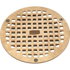zurn floor drain cover drains traps floor drains zurn 10 quot dia floor drain w screws brass b677515