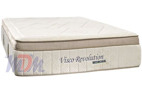 bed boss mattress revolution boxtop bamboo cover gel infused memory foam