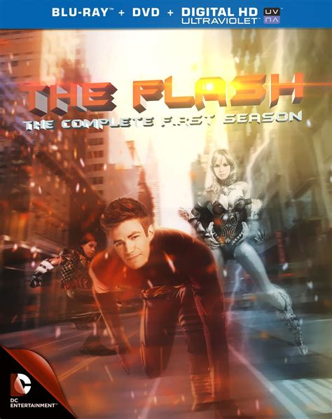 Dvd Series The Flash Complete Season 1 2 3 the flash the complete season dvd cover by macschaer on deviantart