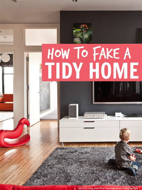 tidy house faking a tidy home mums make lists