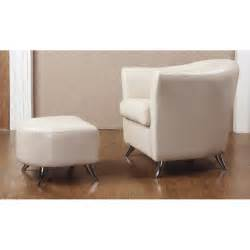 teramo leather armchair and footstool forever