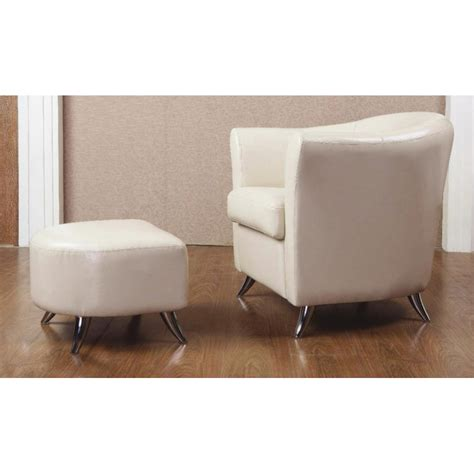 leather armchair and footstool teramo cream leather armchair and footstool forever