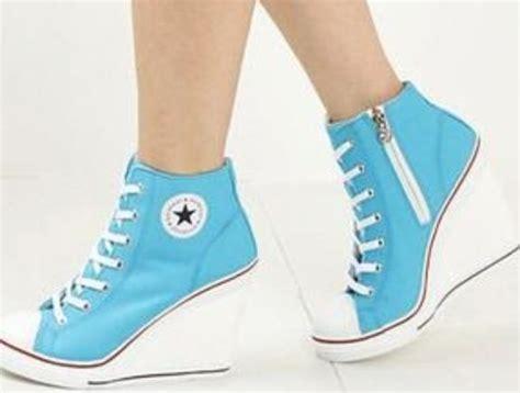 Sandal Heels 6103 Guzzini blue converse high heels shoes shoes converse high