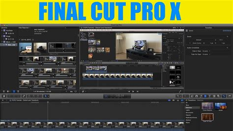 tutorial final cut pro x indonesia final cut pro x fcpx tutorial distort and transform
