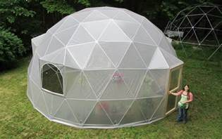 How To Dig A Well In Your Backyard Pre Fab Room Sized Geodesic Domes