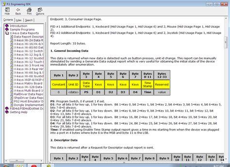 Light Works X Keys Usb Hid Data Reports