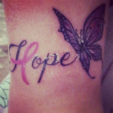 hope cancer tattoo designs lupus awareness tattoos the