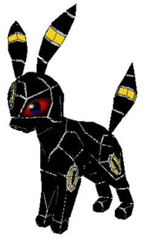 Umbreon Papercraft - papercraft umbreon papercraft paradise