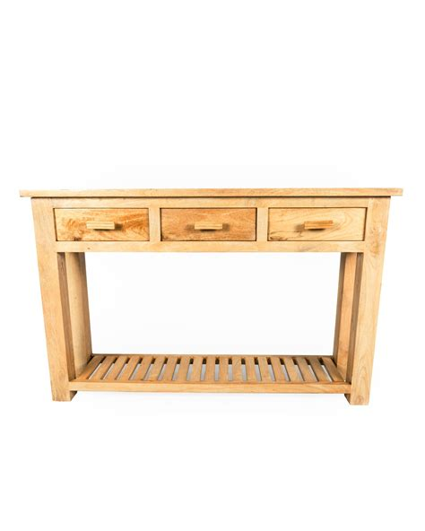 Large Console Table Mangat Large Console Table Oak Shade Homescapes