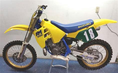 1989 suzuki rm250 ny floater suzuki rm vintage