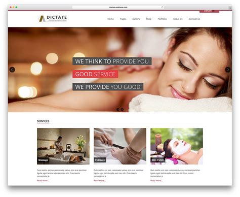 beauty sites 20 awesome spa wordpress theme for spa and beauty salon
