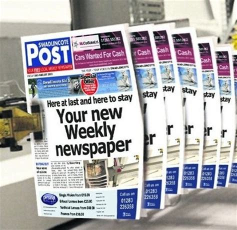 new free newspaper to be launched in midlands town