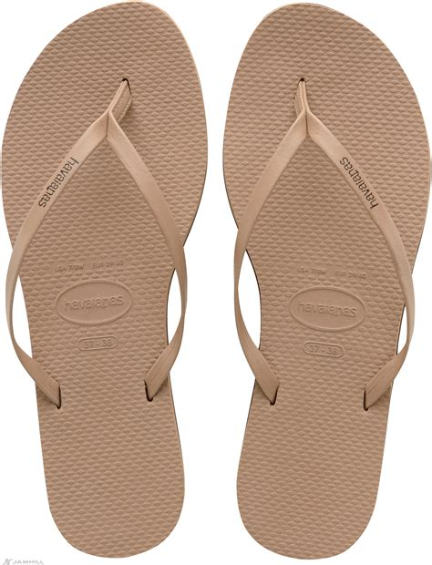 Havaianas Leather 3 havaianas you s leather look flip flops