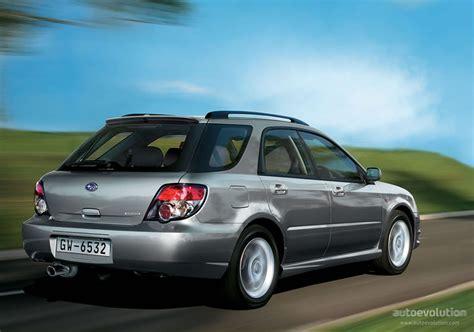 subaru station wagon wrx subaru impreza wagon specs 2005 2006 2007 autoevolution