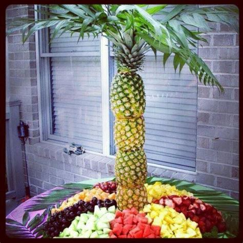 1000 ideas about fruit tables 1000 ideas about pineapple tree centerpieces on