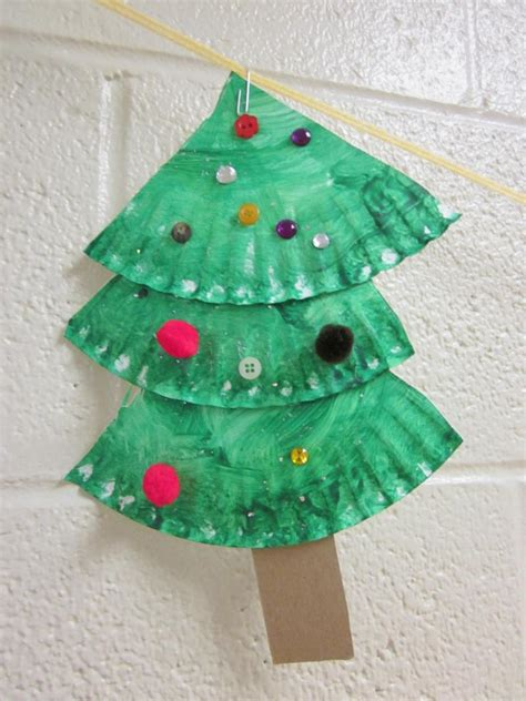 Tree Paper Crafts - oh the many ways to make trees in preschool