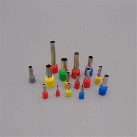 Skun Ferrules 6 Mm Hijau Insulated Cord End E6012 e16 12 insulated single wire ferrules end sleeves for 12mm 6 awg 16mm note message need color