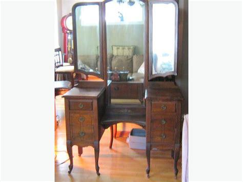 1920 Vanity With Mirror by Antique 1920 1930 Vanity With Three Mirrors Transcona